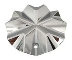 Phino Wheels PW98 CSPW98-1P Chrome Wheel Center Cap