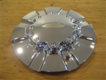 Diamo 23 Karat Tall Chrome Wheel Rim Center Cap DIAMO-23 8H-170