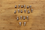 Dcenti DW29 Screw Kit For Inserts For 1 Wheel Only 18 Screws Total