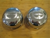 2 X EE Edge Engineering Snap In Chrome Wheel RIm Center Cap ED350-K92 F111-15