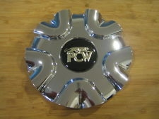 PCW Chrome Wheel Rim Snap In Center Cap EMR-161