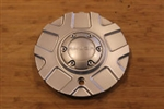 Akuza Panther Silver Wheel Rim Center Cap EMR-448