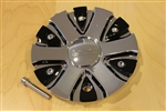 Akuza 712 Big Papi Chrome Wheel Rim Center Cap EMR0712-TRUCK-CAP LG0610-54