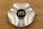 PCW Silver Wheel RIm Snap In Center Cap EMR120