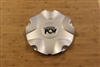 PCW Silver Wheel Rim Snap In Center Cap EMR165