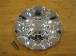 ICW Racing Chrome Wheel Rim Center Cap EMR357-CAP S412-45 X1834147-9 SF
