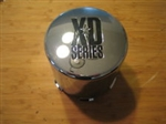 KMC XD Series Chrome Wheel Rim Push-Through Center Cap 1001357 F108-23