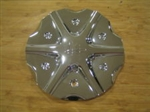 Helo 812 Jet Chrome Wheel Rim Center Cap HELO-4