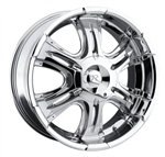 "Karizzma KR05 Bellum Chrome Center Cap 20""/22"""