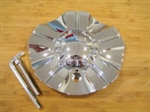 Incubus 525 Novacaine Chrome Wheel Rim Center Cap EMR525-CAR LG0512-69