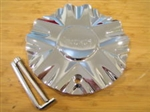 Incubus 509 Banshee Chrome Wheel Rim Center Cap EMR0509-TRUCK-CAP LG0603-43