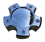 Limited Wheels LZ-053-5H-2 Snap In Chrome Center Cap