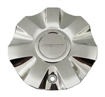 Fusion Wheels LZ037 Chrome Wheel Center Cap