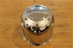 "Limited Alloy Wheels Chrome Wheel Rim Push Thru Center Cap 6 Dimples 4.5"" Tall"