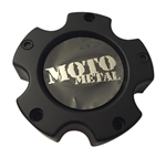 Moto Metal Wheels MO909B5127S3 HE835-B5127 Satin Black 5 Lug Center Cap