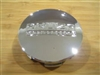 "Akuza Snap In 2 1/4"" Chrome Center Cap K59 F109-25 PCW-3 ARC-7 PACER-7"