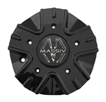 Massiv Wheels PD-CAPSX-P5209-2285 Black Wheel Center Cap