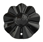 Massiv Wheels PD-CAPSX-P9008 LG1005-16 Black Wheel Center Cap