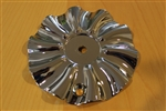 Polo 712 Turbina Chrome Wheel Rim Center Cap 058 Diameter 6-1/8""