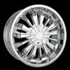 "Velocity Wheel VW117 Center Cap Serial Number STW117-2 (for 18"" wheels)"