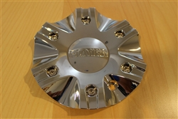 Player 263 Chrome Wheel Rim Center Cap STW263-2 Diameter: 6-7/8""