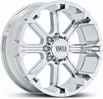 "Status Cannon Chrome Center Cap 22"" 5x150"