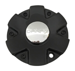 Dakar Wheels T863-18-CAP Black Wheel Center Cap