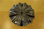 Limited Chrome Wheel Rim Center Cap TR913 RWD MADE IN KOREA (No Logo)