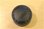 Vision Wheel 160 161 Matte Black ATV Center Cap V160D Dia. 2-3/4""