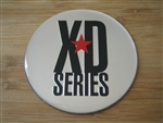 "KMC XD Series Monster 778 Chrome/Silver Logo Sticker Only 3 1/16""Diameter"