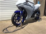 FOLDING FRONT ASSIST STAND - fits Yamaha R3