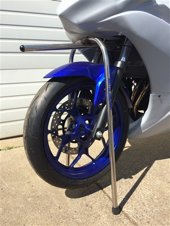 One-touch stand - Yamaha R3