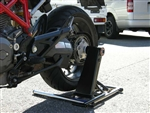 Cantilever (single sided)  swing arm rear stand - Ducati Monster, 996/998/916/748/848, MH900, Hypermotard 25.6-21.5mm