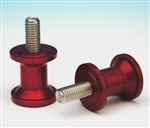 27-0600R - 6mm Swingarm Spool - Red Anodized
