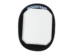 White Woodcraft Klucky Pucks, Set of 2