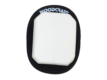 95-0500 - White Woodcraft Klucky Pucks, Set of 2