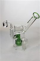 "7"" NG Showerhead Oil Rig With Banger"