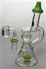 7.5 in. Genie Glass Ball Insert Bubbler w/ Banger