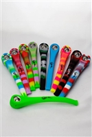 "9"" Genie Silicone hand pipe with metal bowl - More colours on the way!"