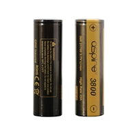 Aspire INR 21700 High Drain Li-Ion 25A 3800mah Battery 1pc