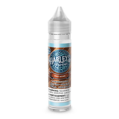 Harleys Parlour 60ml - Bar None *FLAVOUR OF THE WEEK*
