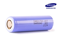 Samsung 40T 21700 4000mAh 40A Flat Top Battery