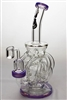 "9"" Twelve Tube and Inline Diffused Recycler with Banger"