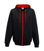 2.Hooded Full Zip Sweatshirt (Adult)