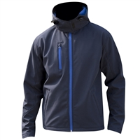 Mens Lite Hooded Softshell Jacket
