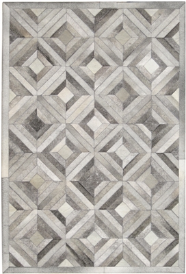 Grey Cow Hide Rug