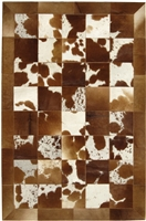 Natural Brown Cow Hide Rug MH-254