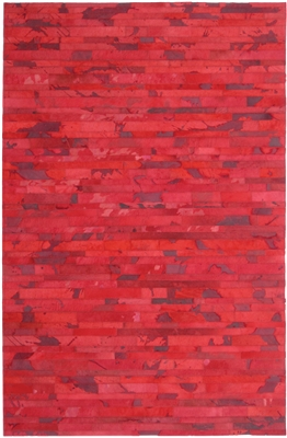 Red Cow Hide Rug MH-270