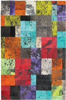 Multi-color Cow Hide Rug MH-271