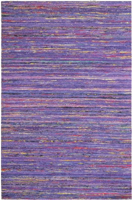 Purple Sari Silk Rug MS-265